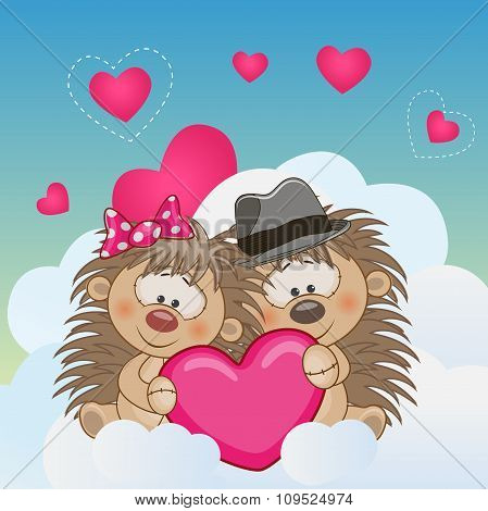 Lovers Hedgehogs