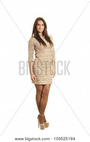Beauty woman posing