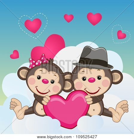 Lovers Monkeys