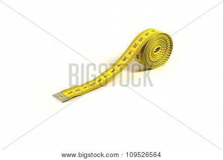 Isolated measuring tape