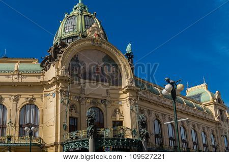 Municipal House In Old Prague
