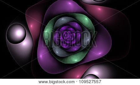 Alien Space Flower