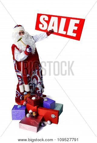 Sale notice from Santa Claus