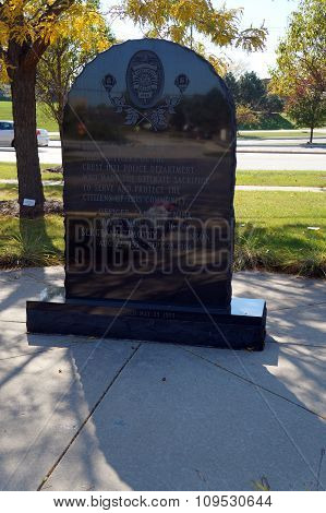 Crest Hill Police Officers' Memorial