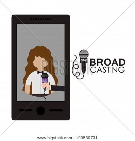 broadcasting concept design