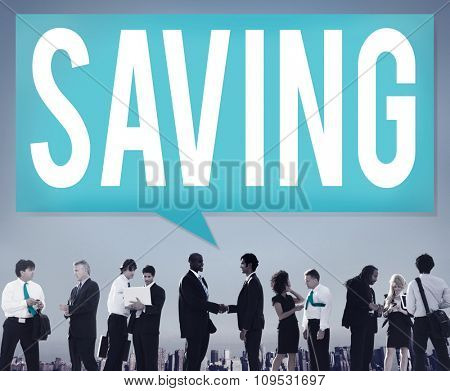 Save Saving Accounting Banking Investment Concept