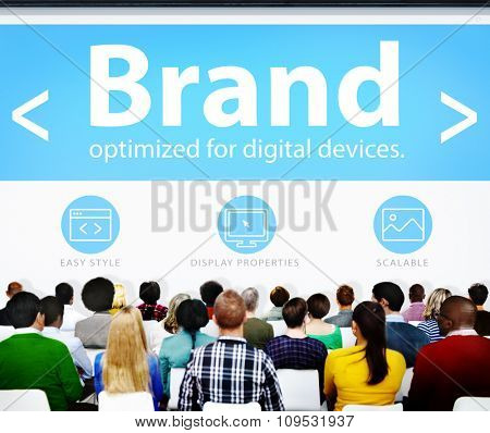 Brand Marketing Web Page Seminar Presentation Concept