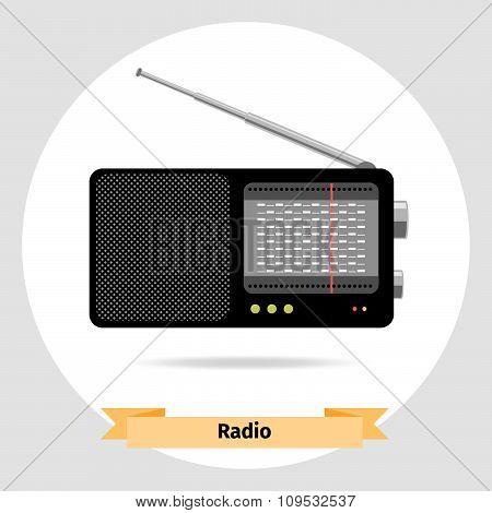 Radio vector isolated