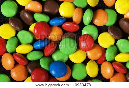Colorful background. Candy. Multicoloured background. Colours. Colourful sweets.Sweet food backgroun
