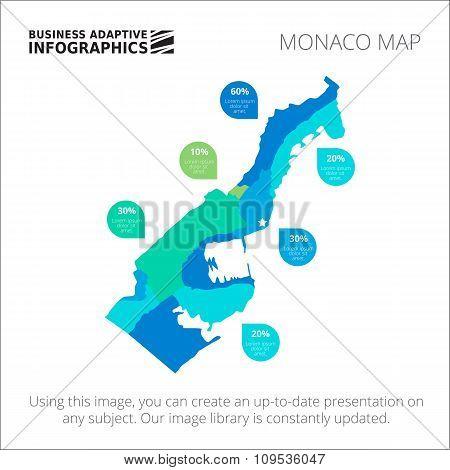 Monaco map template 2