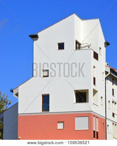 Vilamoura, Algarve, Portugal - October 26, 2015 House in the town of Vilamoura in Portugal