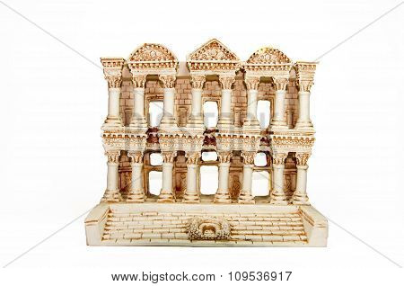 Miniature Model of Celsus Library