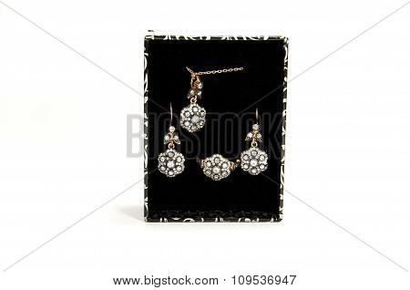 Luxury jewelery set