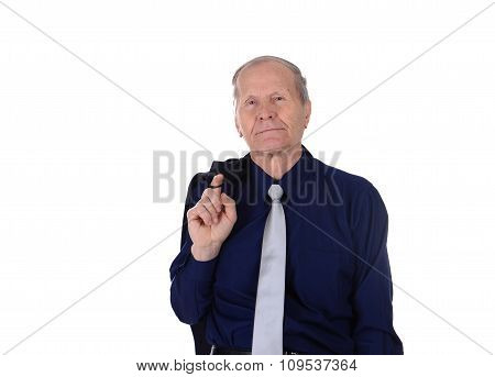 businessman with jacket on his shoulder
