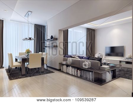 Studio Apartment Modern Style