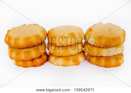 Shortcake In The Form Of A Camomile