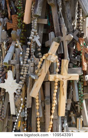 The Mountain Of Crosses