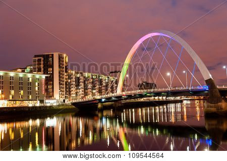 Clyde Arc Bridge.