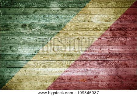 Wooden Boards Congo Brazzaville