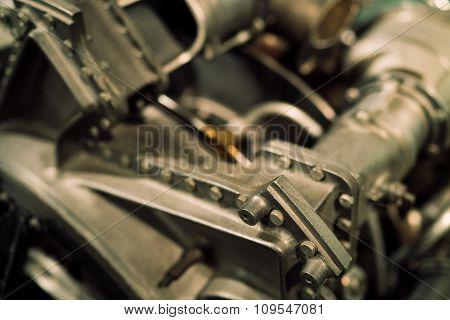 Old Engine Close