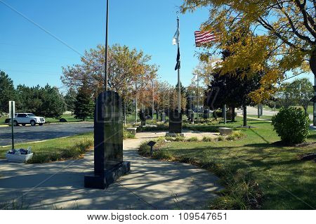 Crest Hill Veterans Memorial Garden