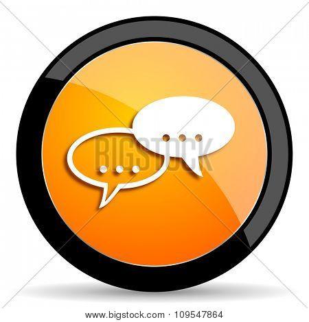 forum orange icon