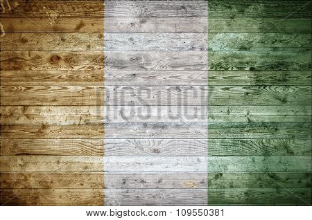 Wooden Boards Ivory Coast