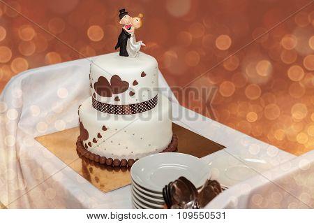Delicious Wedding Cake