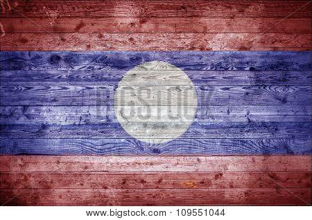 Wooden Boards Laos