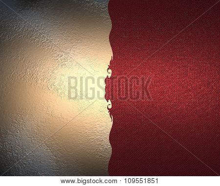 Red Texture On A Pink Background With A Pattern. Element For Design. Template For Design. Copy Space