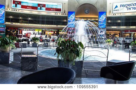 Ben Gurion International Airport. Tel Aviv. Israel