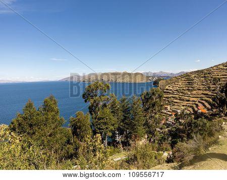 Isla Del Sol (island Of The Sun). Lake Titicaca. Bolivia.