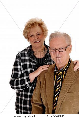 Middle Age Couple Standing.