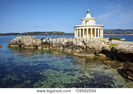 Amazing Landscape of Lighthouse of St. Theodore at Argostoli,  Kefalonia