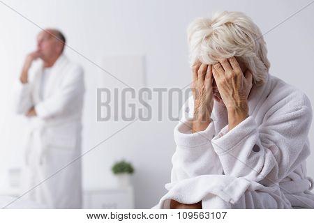Elderly Marriage Thinking About Divorce