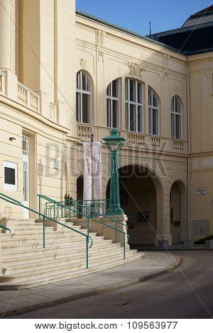 Theater square Baden near Vienna
