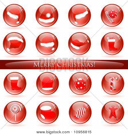 Christmas Glossy Balls