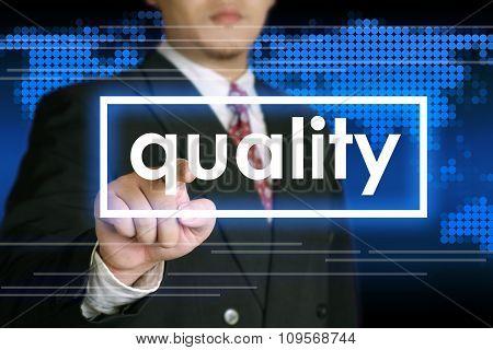 Quality Business Concept