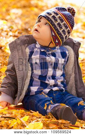 8 Months Old Boy In The Fall