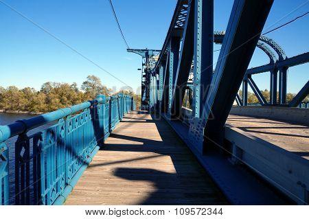 McDonough Street Bridge's Pedestrian Section