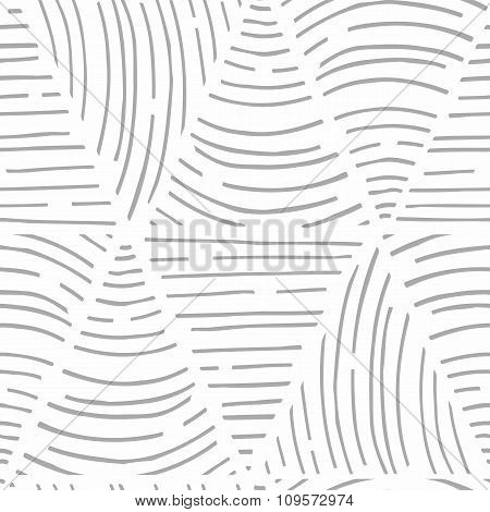 Seamless pattern with hand drawn lines. Triangle shapes. Universalbackground texture