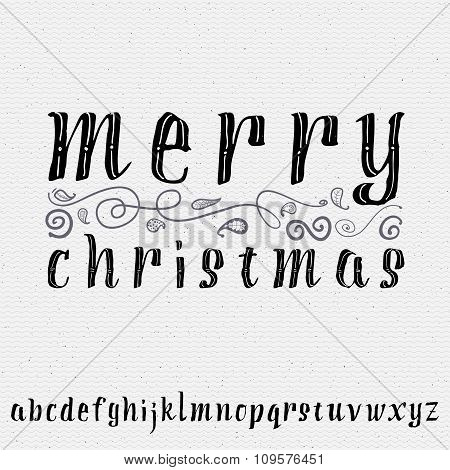 Merry christmas insignia  and labels for any use