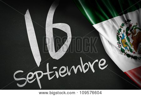 September 16 Independence of Mexico