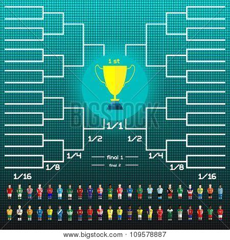 World Cup Team Scoreboard