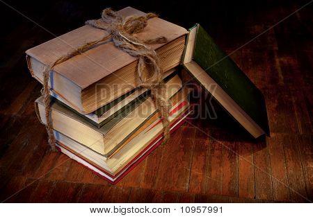 Sheaf Of Old Books