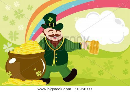 Leprechaun For St Patrick