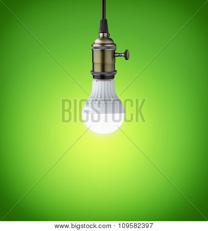 Glowing Led Bulb