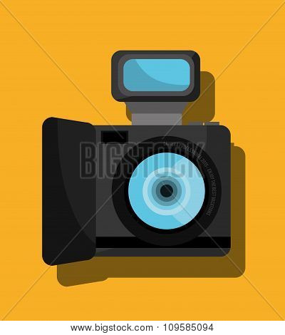 Analog camera  graphic icon