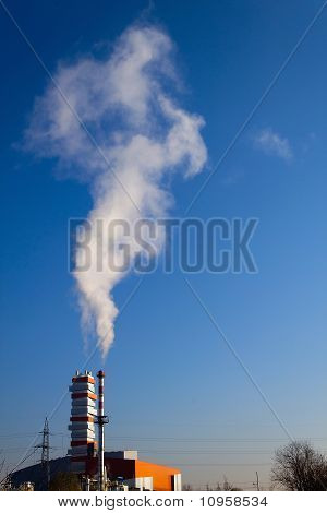 Chimenea de humo