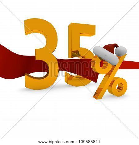35 Percent Christmas Discount